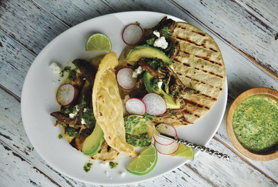 Pot Roast Tacos with Chimichurri
