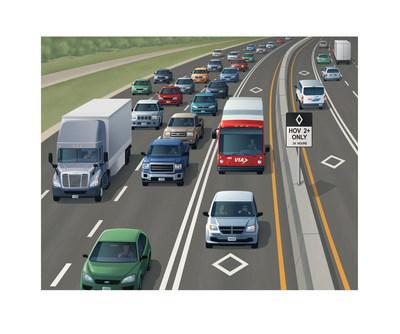 In partnership with the Texas Department of Transportation (TxDOT), VIA Metropolitan Transit in San Antonio will manage HOV lanes on two highways beginning with Interstate 10 between La Cantera Parkway and FM 3351 (Ralph Fair Road) in 2020.