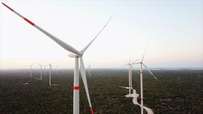 Peninsula Wind Farm, Yucatan, Mexico