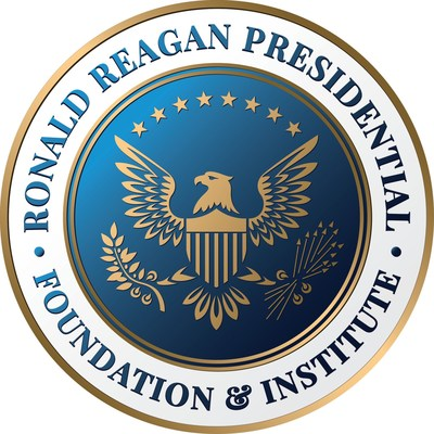The Ronald Reagan Presidential Foundation and Institute logo (PRNewsfoto/The Ronald Reagan Presidential)