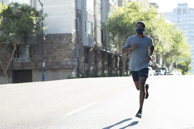 ASICS announces a revolutionary face cover for runners – the ASICS RUNNERS FACE COVER (PRNewsfoto/ASICS)