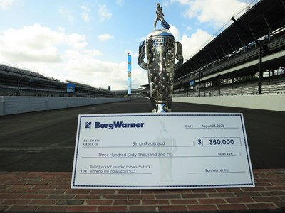 Rolling jackpot awarded to back-to-back winner of The Indianapolis 500
