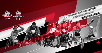 The Paralympic Super Series Rewind launches August 24 on the CPC Facebook page. Photo: Canadian Paralympic Committee (CNW Group/Canadian Paralympic Committee (Sponsorships))