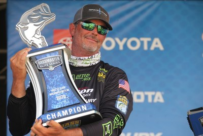 Bill Weidler, of Helena, Ala., has won the 2020 YETI Bassmaster Elite at Lake St. Clair with a four-day total of 86 pounds, 7 ounces.