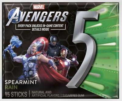 Marvel's Avengers 5 Gum Spearmint