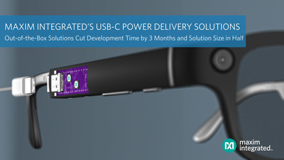 MAX77958 and MAX77962 USB-C Power Delivery Solutions from Maxim Integrated Accelerate Industry Adoption by Cutting Development Time by Three Months and Reducing Solution Size in Half