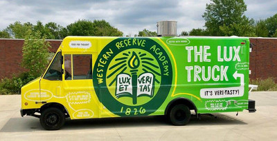 Western Reserve Academy's Food Truck, dubbed The Lux Truck