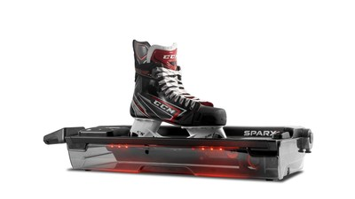 The newly unveiled Sparx Sharpener delivers professional level skate sharpening results in a more compact and lightweight design at an affordable price. Thousands of customers in the U.S. and Canada are currently sharpening their skates with Sparx, including individuals, families, teams, rink operators and pro shops. Elite teams and players around the world are also experiencing the consistency and accuracy of Sparx, including more than 25 NHL teams.