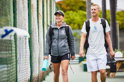 Professional pickleball champions Lindsey and Riley Newman join the Takeya family as brand ambassadors.