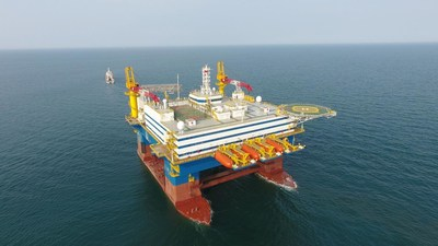 "Figure out: the semi-submersible accommodation vessel ""OOS Tiradentes"""