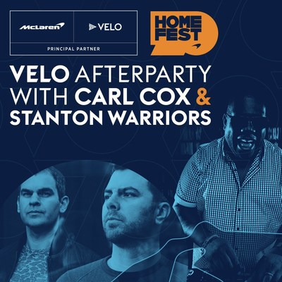 VELO Hosts Official Afterparty for McLaren Racing's Virtual HomeFest