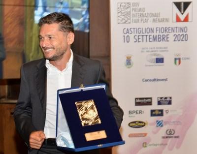 Giancarlo Fisichella, International Fair Play Menarini Award winner