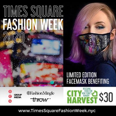 Throw NYC AntiMicrobial Times Square Fashion Week Mask.