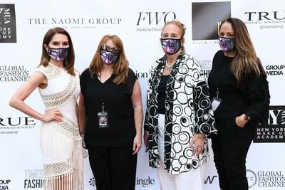 Jean Shafiroff, Melissa Shea CEO of Fashion Mingle, Manhattan Borough President, Gale Brewer, Founder of Times Square Fashion Week & DCG Media Group, Dee Rivera