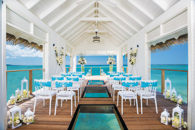Over-the-Water Serenity Wedding Chapel at Sandals Resorts