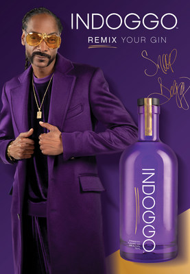 Entertainment Icon and Hip-Hop legend Snoop Dogg's very own gin INDOGGO, crafted with a laid-back California style, launches in Snoop's home state of California in late September and then continue across the US through early 2021