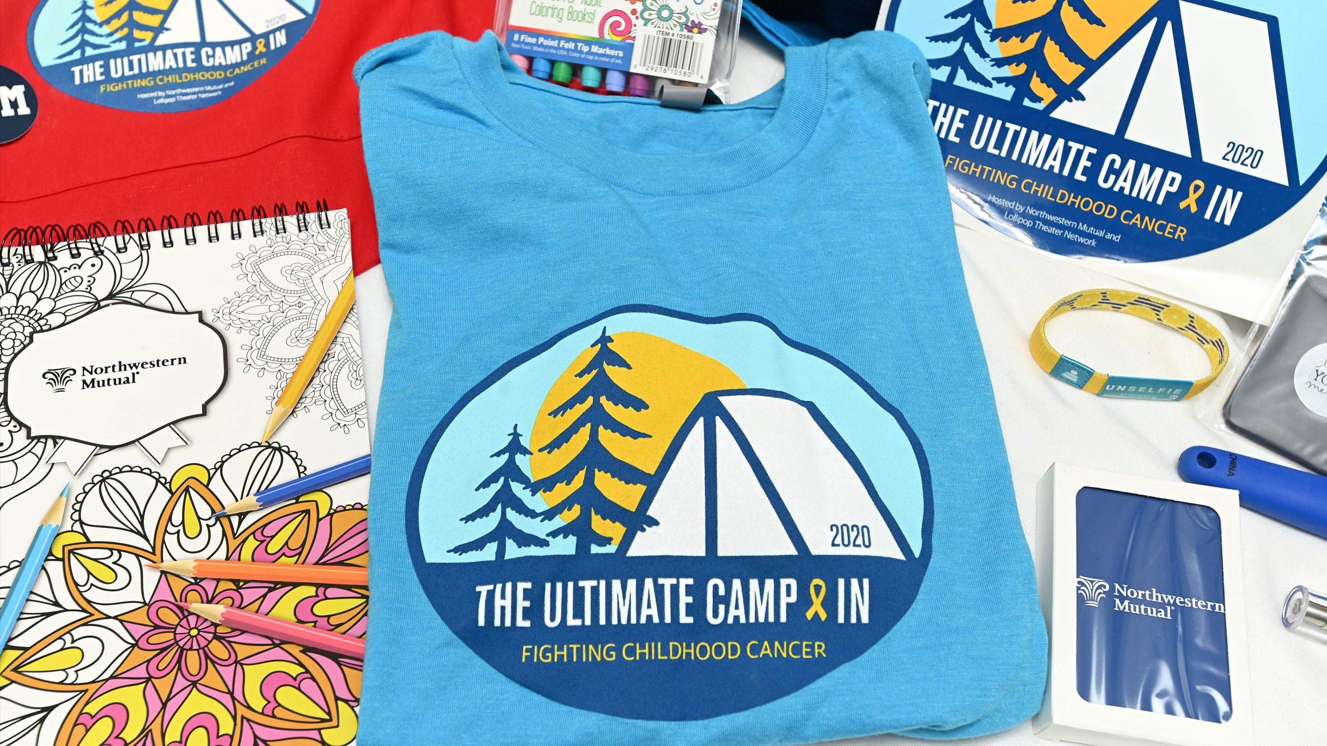 The Ultimate Camp-In, hosted virtually by Northwestern Mutual and Lollipop Theater Network, unites children and families affected by childhood cancer through a magical world of fun, complete with games and learning, special surprises and celebrity appearances on Saturday, August 29, 2020. (PHOTO CREDIT GETTY ENTERTAINMENT)
