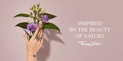 For its Spring/Summer 2021 collections THOMAS SABO draws inspiration from the richness of nature (PRNewsfoto/THOMAS SABO GmbH & Co.KG)