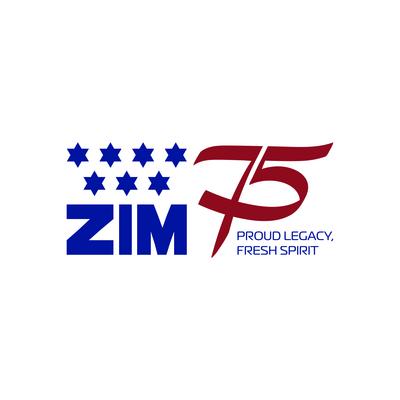 ZIM logo (PRNewsfoto/ZIM and Ladingo)