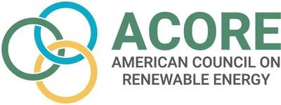 American Council on Renewable Energy (ACORE) logo (PRNewsfoto/American Council on Renewable Energy (ACORE))