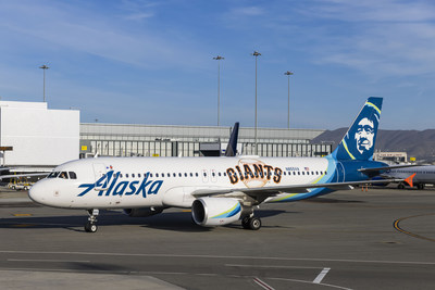 Alaska Airlines' newest livery shows up in a GIANT way!