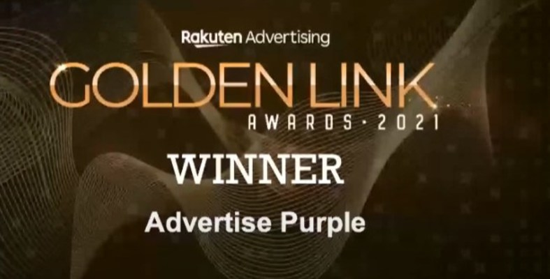 Advertise Purple Wins Agency of the Year