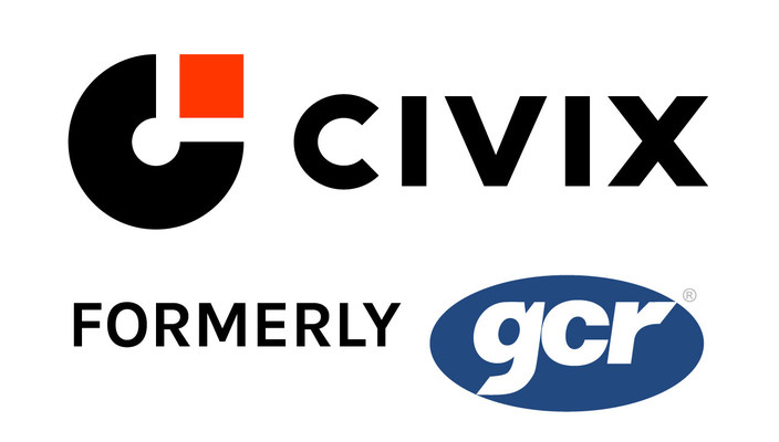 Civix, formerly GCR Inc., is recognized as one of the top government software and service providers in the U.S.
