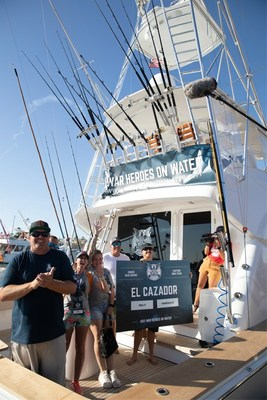 Veterans Vanessa Brown and Mea Peterson enjoyed their time aboard the El Cazador. Their tournament catches would earn them sixth and seventh place, respectively, in overall tournament points.