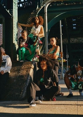 H&M Collaborates With Iconic 90's Skate Brand No Fear And Features The Skate Kitchen In The Campaign And As Co-Creators