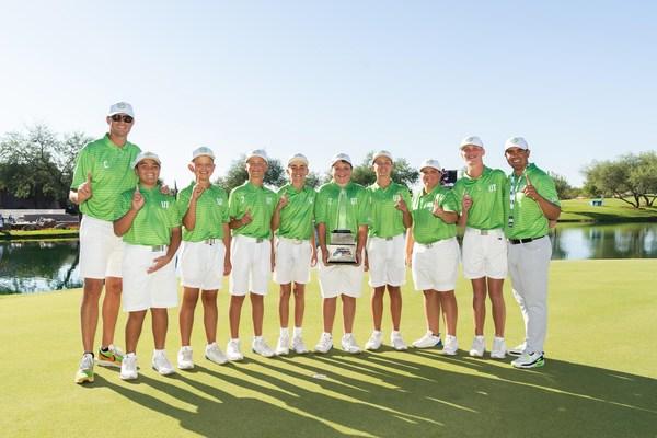 2021 National Car Rental PGA Jr. League Champions Team Utah